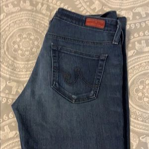AG jeans. Slim bootcut style